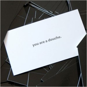 douche cards