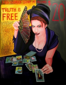 Psychic lies cost money